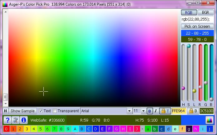 Color Pick Pro full screenshot